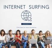 Globalnej sieci związku technologii pojęcie Zdjęcie Royalty Free