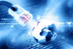 Globalnej sieci związek Zdjęcia Stock