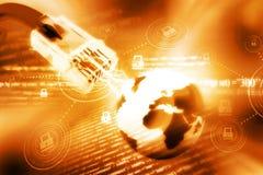 Globalnej sieci związek Obraz Stock