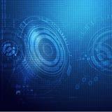 Globalnej technologii cyfrowy tło ilustracja wektor