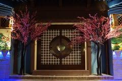 Globalnej Wioski Dubaj Chiny pawilon Obrazy Royalty Free