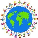 globalni dzieciaki Zdjęcia Stock