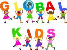 globalni dzieciaki Obraz Royalty Free