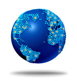 Globalni Związki Obrazy Stock