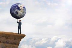 Globalny środowiskowy biznesowy pojęcie obrazy stock