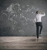Globalny biznes Obraz Royalty Free