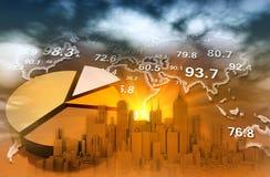 Globalny biznes Obraz Stock