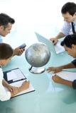 Globalny biznes jest o wzroku Fotografia Royalty Free