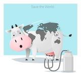 Globalny ekologii pojęcia Save świat zanim ono będzie zbyt opóźniony Obraz Stock