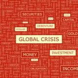 GLOBALNY kryzys Zdjęcia Royalty Free