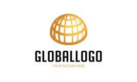 globalny logo royalty ilustracja
