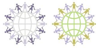 globalny mieszkana logo Obrazy Royalty Free