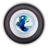 globalny muzyczny symbol Zdjęcia Royalty Free