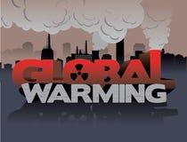 globalny nagrzanie ilustracji