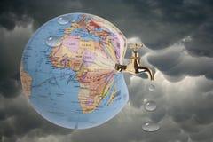 globalny nagrzanie Fotografia Royalty Free