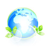 globalny naturalny symbol Ilustracji