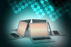 Globalny networking system Obraz Stock