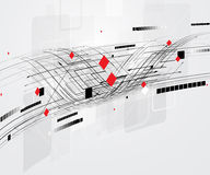 Globalny nieskończoności informatyki pojęcia biznesu tło Fotografia Royalty Free