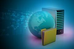 globalny pojęcie networking Zdjęcia Stock