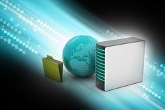 globalny pojęcie networking Obraz Stock