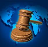 Globalny prawo Fotografia Stock