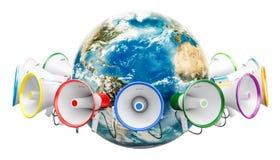 Globalny promocyjny pojęcie, 3D rendering Fotografia Stock