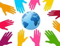 globalny wysiłek ilustracja wektor