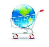 globalny zakupy Zdjęcia Stock