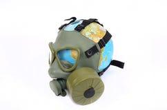 Globalny Ziemski zanieczyszczenie Obraz Royalty Free