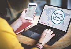 Globalnych komunikacj technologii bezprzewodowej związku pojęcie Zdjęcie Royalty Free