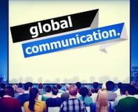 Globalnych komunikacj związek Komunikuje pojęcie royalty ilustracja