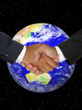 globalt affärsavtal Royaltyfri Foto