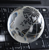 Globalt datorbegrepp Royaltyfri Fotografi