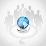 globalt högvärdigt för affärsidéupplaga Arkivbild