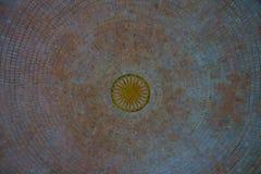 Globalt inlägg för Vipassana pagodkupol Arkivbilder