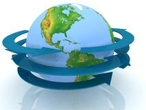 globalt internetnätverk Arkivfoto