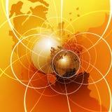 globalt nätverk Arkivbilder