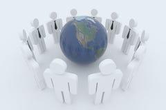 globalt samarbete Arkivfoton