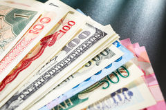 Globay money Stock Images