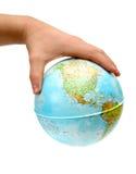 Globe à disposition photo stock