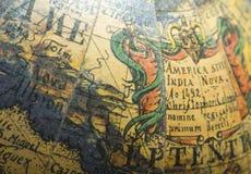 Globe à l'ancienne Photographie stock