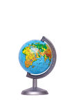 Globe. The globe the manual for employment on geography royalty free stock image