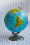 Globe. Showing North and South America Royalty Free Stock Image