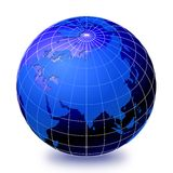 Globe 2 du monde Photo libre de droits