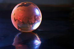 Globe. Marble globe stock photos