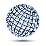 Globe. Illustration for the web Royalty Free Stock Photography