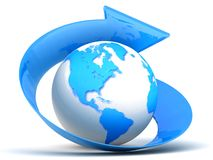 Globe. Royalty Free Stock Photography