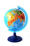 Globe. On a white background Stock Photography