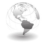 Globe stock illustration