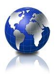 globe 3d Photo libre de droits